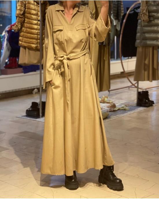 Nyborg Brown Dress