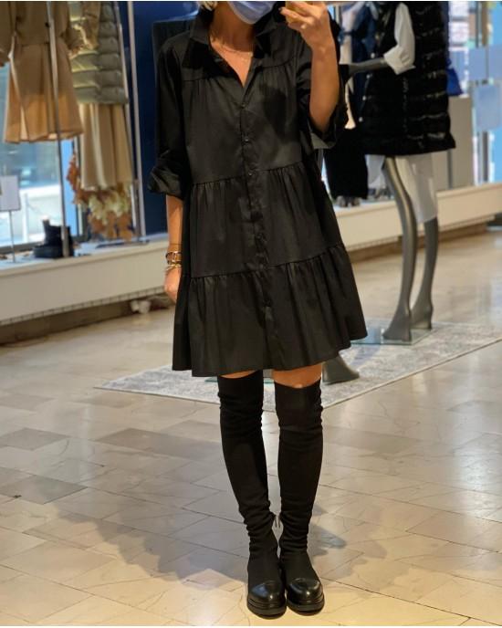 Visby Black Dress