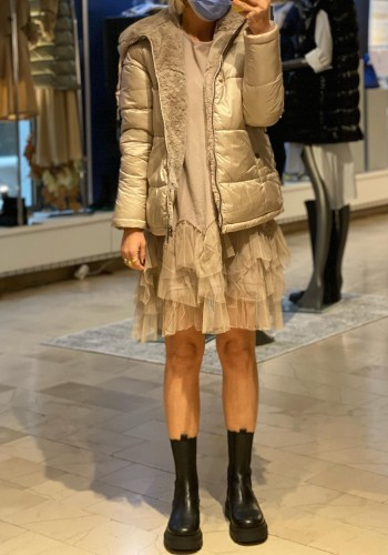 Lund Double-face Beige Jacket
