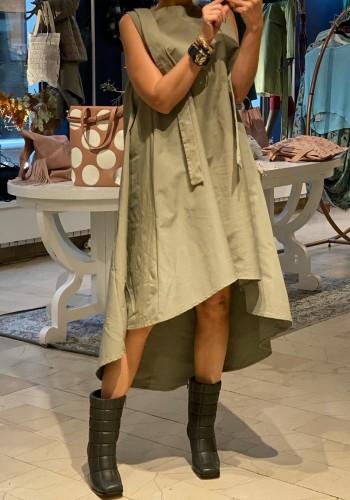 Parma Olive Dress