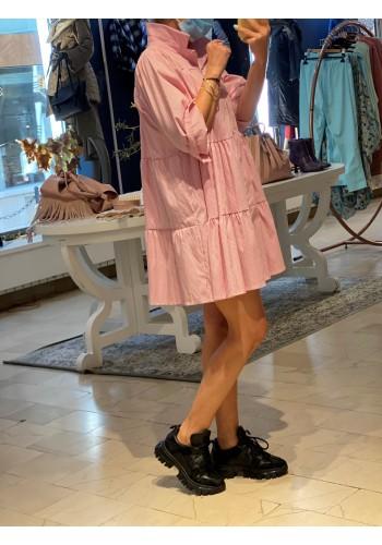 Glasgow Pink Striped Dress