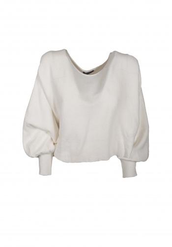 Florence White Sweater