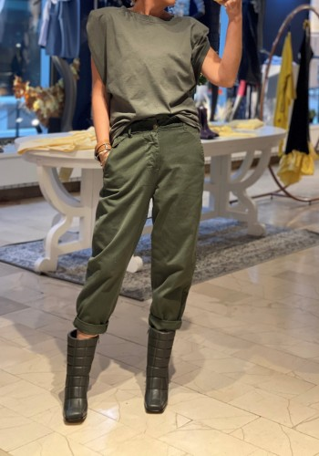 Lille Olive Green Pants