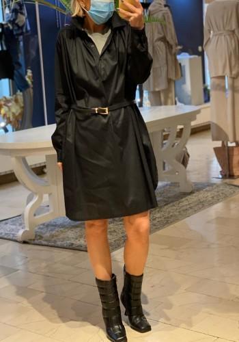 Arles Black Dress