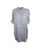 Niort Blue Plaid Dress
