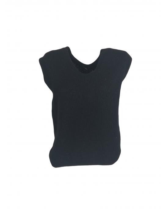 Arles Black Vest