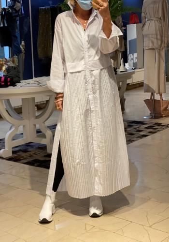 Novara White Dress