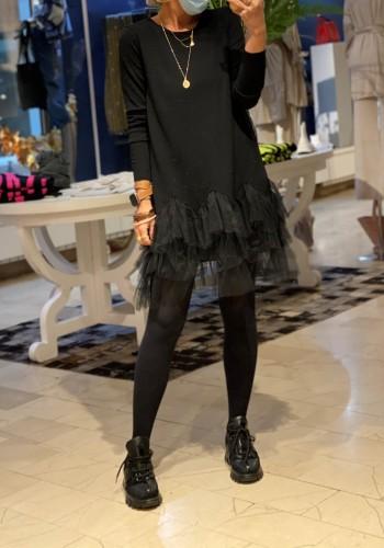 Lecce Black Dress