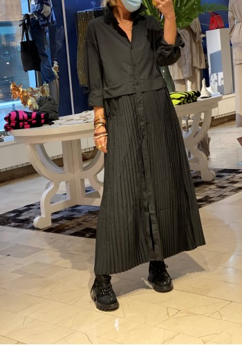 Novara Black Dress
