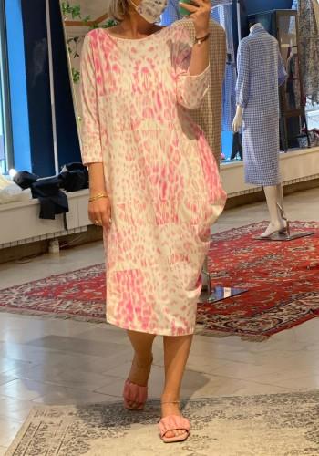 Asymmetric Rose Dress