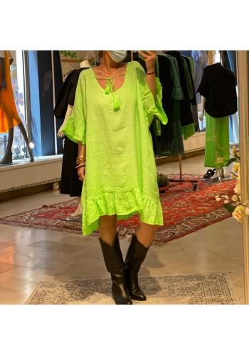 Flowy Neon Dress