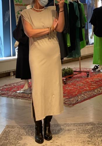 Beige Soft Long Dress