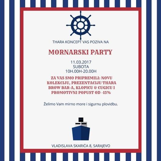 Mornarski party 2017