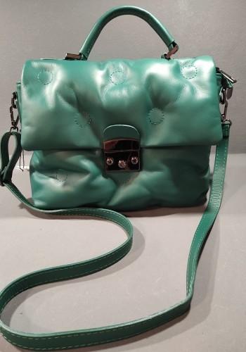 Green Bubble Bag