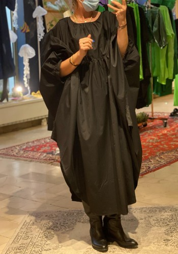 Bubble Black Dress