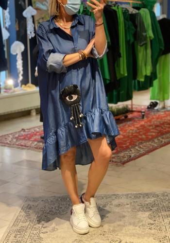 Blue Alien Dress