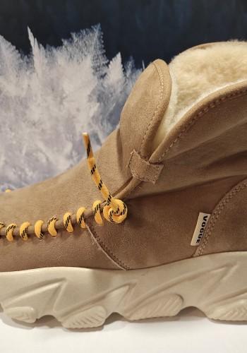 Light Beige Boots