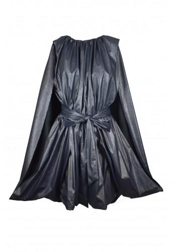 Cape Blue Dress