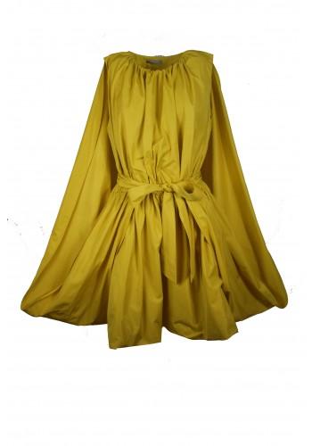 Cape Yellow Dress