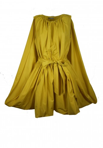 Cape Yellow Dress