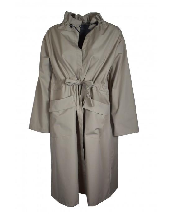 Collar Beige Coat