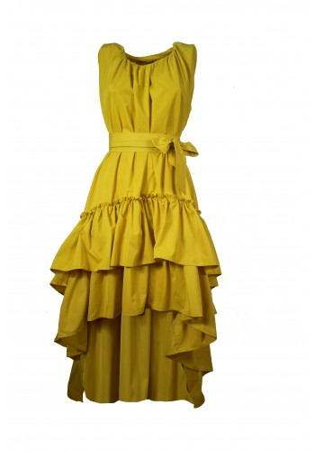 Grenada Yellow Dress