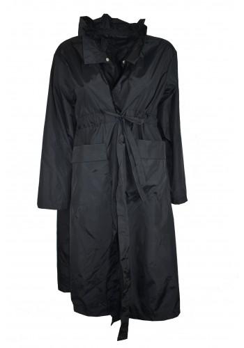 Collar Black Coat