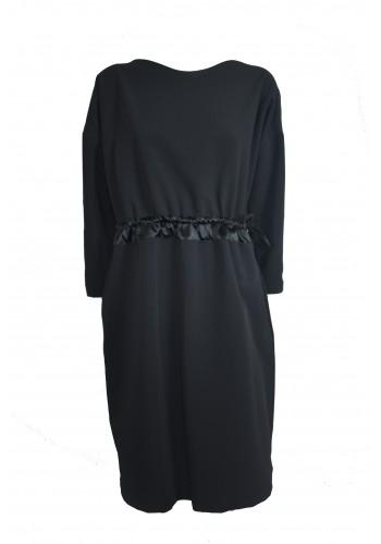 Black Modena Dress
