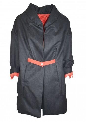 Oversize jacket two face