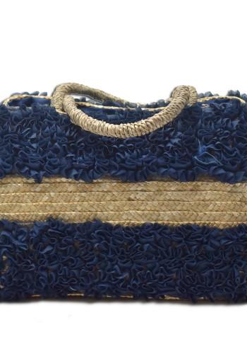 Basket Bag Navy Blue